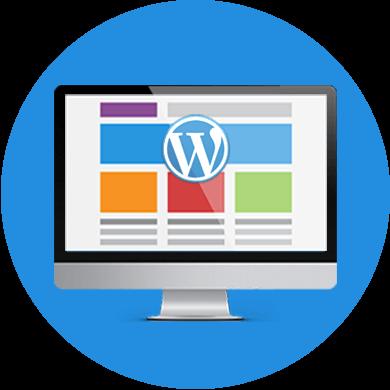 Icon WordPress platform