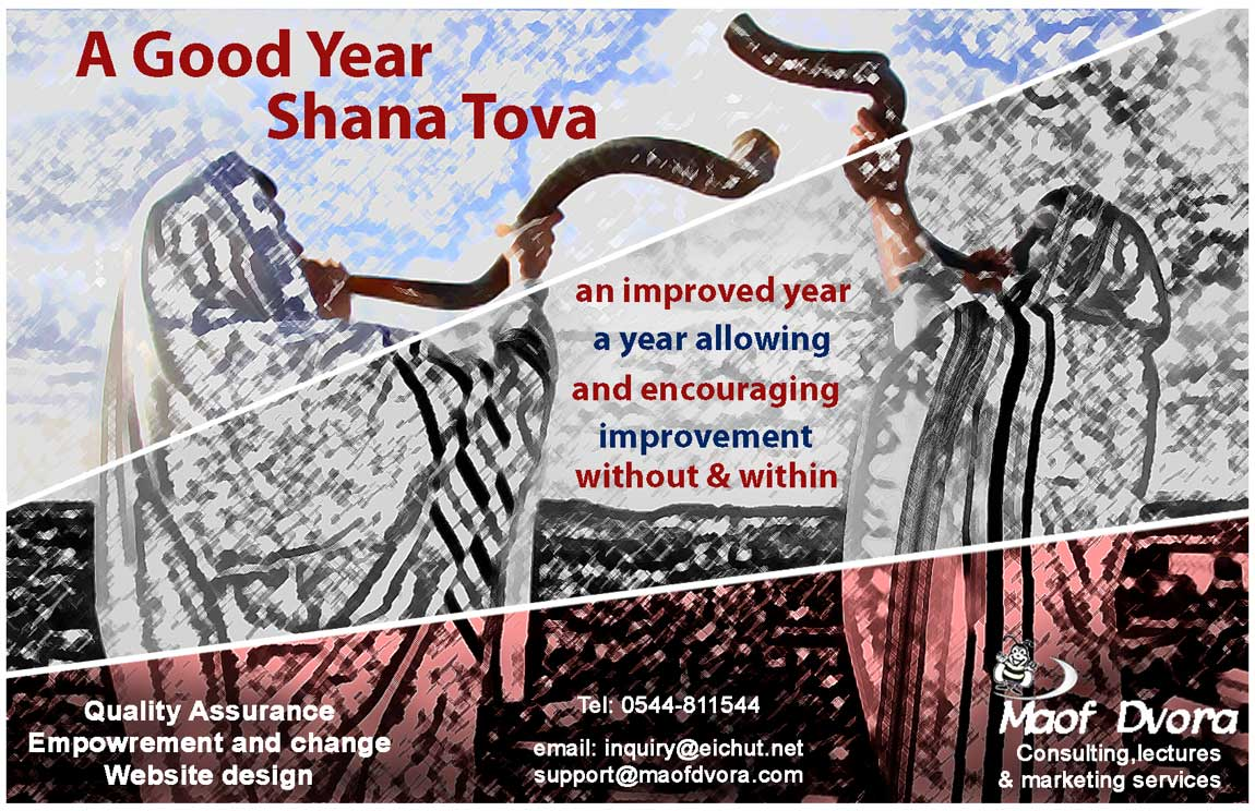 Greeting card for Rosh HaShana 2015