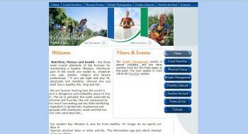 צילום מסך אתר שיווקי בעמוד הראשי